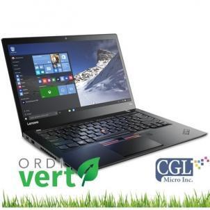 Portatif Lenovo ThinkPad T460s 14po i5/8G/240SSD Ordivert Revalorisé