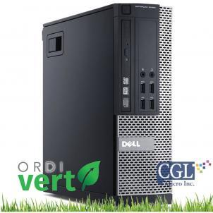 Tour Dell Optiplex 9020 i3/8G/120SSD/Win10H OrdiVert revalorisé