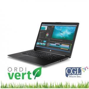 Portatif HP Zbook Studio G3 15po i7/16G/480SSD OrdiVert Revalorisé