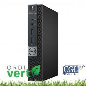 Tour Dell Optiplex 3040 Tiny i5/8G/240SSD/Win10P OrdiVert revalorisé